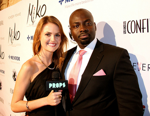 Dr. Obeng was interviewed on the red carpet at the Forever Femme Fundraiser at the Peninsula Beverly Hills Hotel